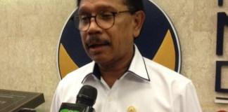Anggota Komisi XI dari Fraksi Nasdem, Johnny G. Plate/Foto Deni/Nusantaranews