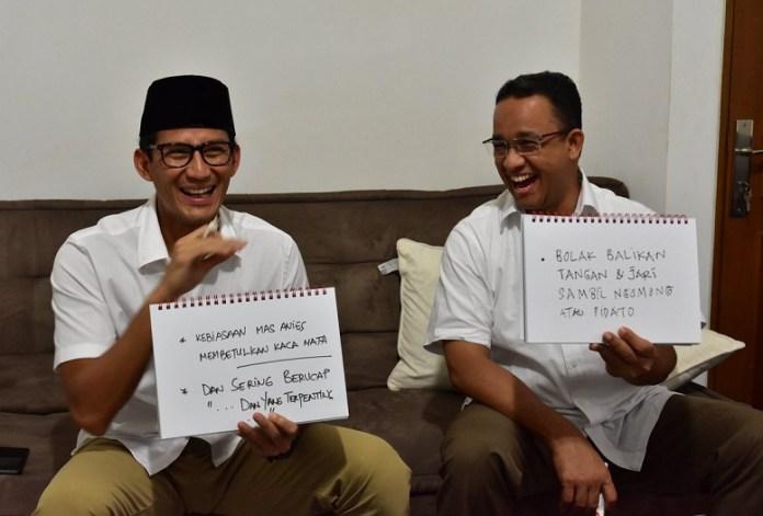 Anies-Sandi/Foto Istimewa/Nusantaranews