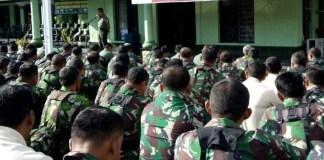 Dandim 0808/Blitar Letkol Arh. Suryadani saat sambutan/Foto Dok. Pribadi/Nusantaranews
