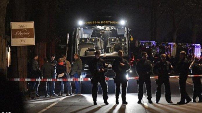 Insiden Bom di Bus Borussia Dortmund/Foto Istimewa/Nusantaranews