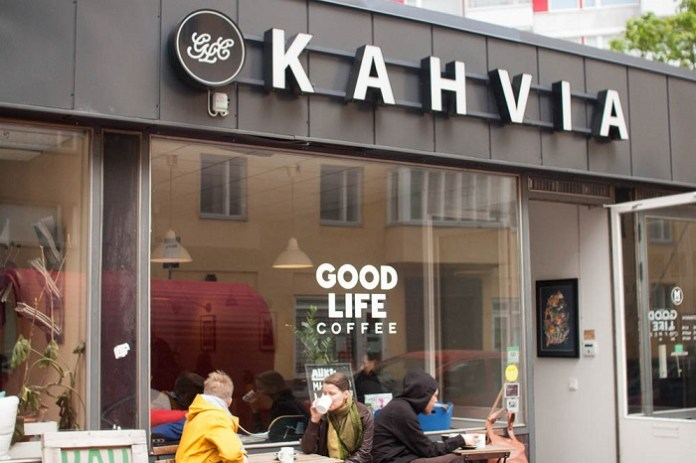 Good Life Coffee. Kahvia is the Finnish word for coffee | andershusa.com