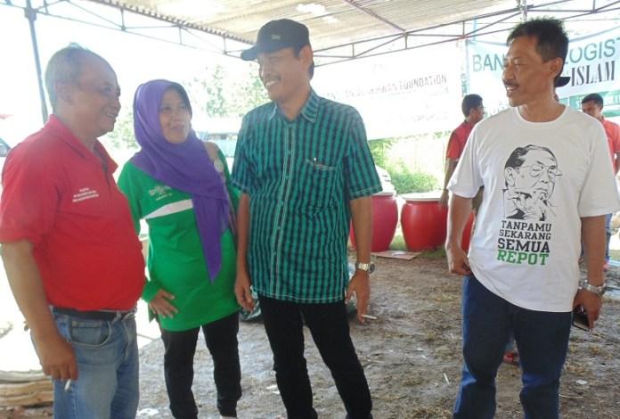 Pihak Palang Merah Indonesia (PMI) Kabupaten Ponorogo/Foto nur/Nusantaranews