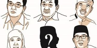 Melirik Pilkada Jabar. ilustrasi by Fian & Ali/ PIkiran Rakyat