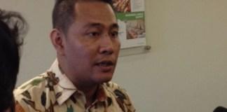 Ketua Serikat Pekerja JICT, Nova Sofyan Hakim. Foto Deni Muchtarudin/ NUSANTARAnews