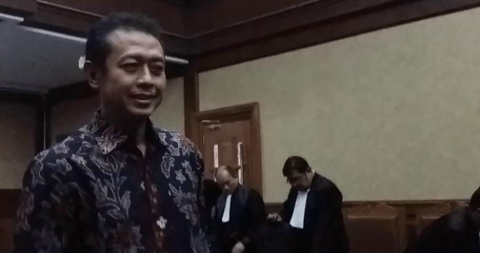 mantan pejabat di Ditjen Pajak Kemenkeu; Handang Soekarno/Foto Restu fadilah/Nusantaranews