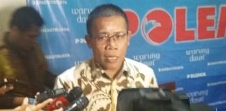 Politikus PDIP, Masinton Pasaribu usai diskusi publik di Warung Daun Cikini, Jakarta Pusat, Sabtu, (6/5/2017). Foto Restu Fadilah/ NUSANTARAnews