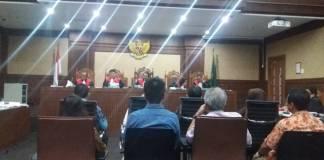 Sidang ke-16 kasus korupsi e-KTP, Senin (22/5/2017)/Foto: Restu Fadhilah/Nusantaranews