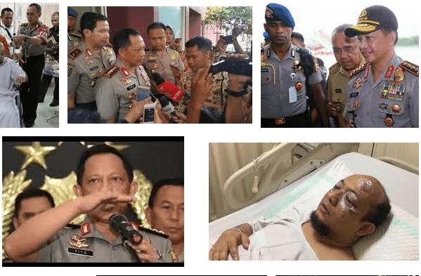 Ilustrasi Kasus Novel Baswedan/Nusantaranews