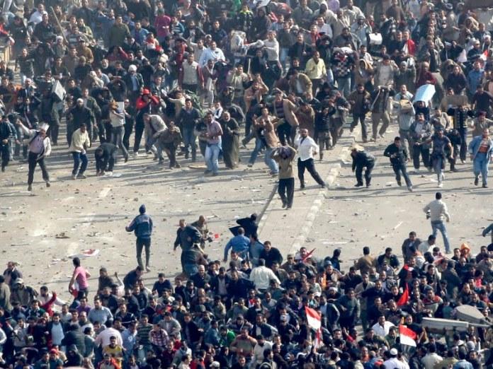 Kerusuhan massa/Foto ilustrasi/Nusantaranews