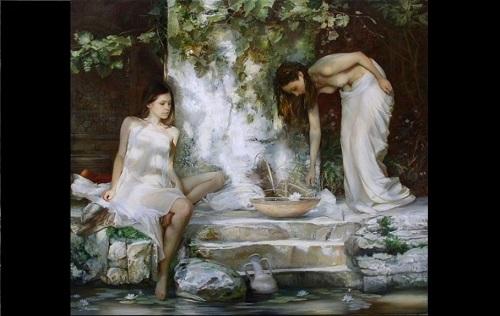 The elegant oil paintings of Sergei Marshennikov 3