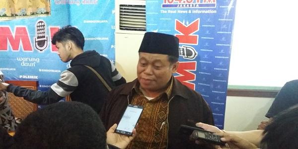 Ketua Tanfidziyah PBNU, Kiyai Marsyudi Syuhud. (Foto: Ucok Al Ayubbi/Nusantaranews)