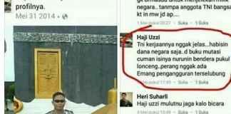 Akun Polisi Hina TNI/Foto Istimewa/Nusantaranews