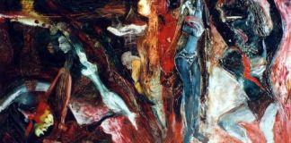 Nasirun - 1996 - Ratu Segajat (145x90) Oil Paint on Canvas | Dokumentasi Edwin's Gallery (archive.ivaa-online.org)