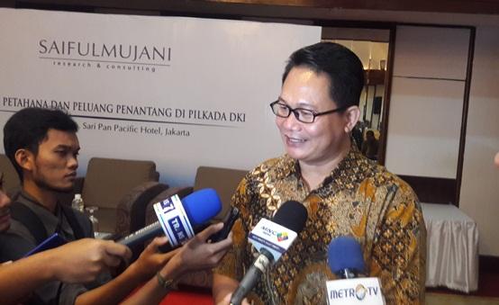 Saiful Mujani Research and Consulting (SMRC), Sirojudin Abbas/Foto via kriminalitas/Nusantaranews