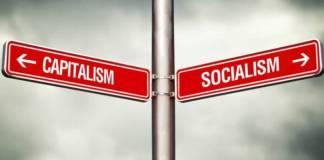 Capitalism or Socialism concept/Foto Istimewa/Nusantaranews