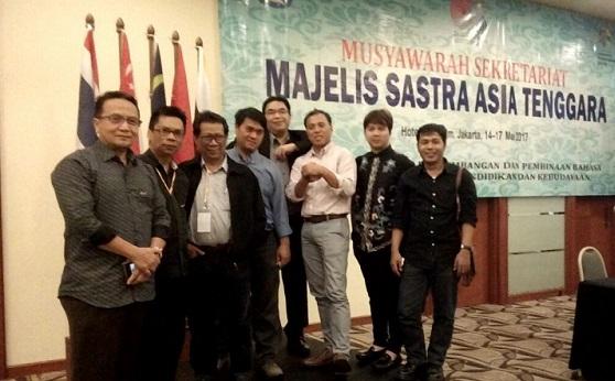 Kurator dan instruktur dari Indonesia Majelis Sastra Asia Tenggara (Mastera) 2017. Foto: Dok. Panitia MASTERA