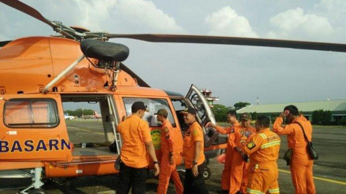 Helikopter Basarnas/Foto Istimewa/Nusantaranews