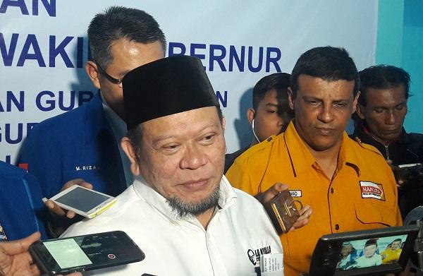 Ketum Kadin Jatim La Nyalla Mahmud Mattaliti/Foto Tri Wahyudi/Nusantaranews