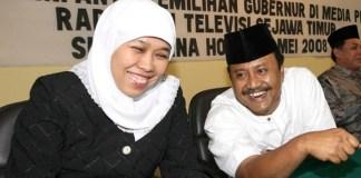 Khofifah dan Gus Ipul/Foto via sebarr/Nusantaranews