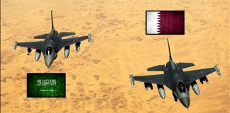 Saudi vs Qatar (ilustrasi). Foto via YouTube
