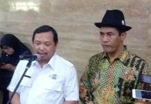 Ketua Masyarakat Perbenihan dan Pembibitan Indonesia (MPPI) Herman Khaeron di sela-sela acara pengukuhan DPP MPPI (Masyarakat Perbenihan dan Perbibitan Indonesia) di Auditorium Kementan, Jakarta, Senin (21/8/2017). Foto Richard Andika/ NusantaraNews.co