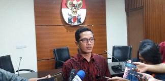 Kepala Biro Humas KPK Febri Diansyah. Foto Restu Fadilah/ NusantaraNews.co
