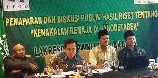 Diskusi Riset Kenalan Remaja oleh Lakpesdam PWNU Jakarta/Foto Ucok AA/Nusantaranews