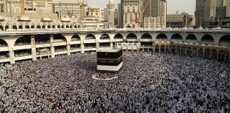 Umat Muslim dari seluruh dunia berkumpul di Mekah untuk melakukan ibadah haji tahunan. (Foto: Reuters)
