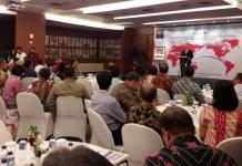 Mendag Enggartiasto Lukita di kantor Kementerian Perdagangan, Jakarta, Rabu (23/8/2017). Foto Richard Andika/ NusantaraNews.co