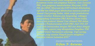 Ketua Lajnah Tanfidziyah Majelis Mujahidin, Irfan S Awwas. Ilustrasi: NusantaraNews.co