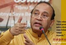 Mantan Menteri Keuangan era Perisiden Soeharto, Fuad Bawazier. Ilustrasi: NusantaraNews.co