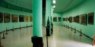 Lukisan di Museum Affandi. Foto: IndonesiaKaya.com