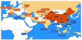 Jalur Sutera Abad-21 Cina (One Belt, One Road Initiative). (Foto: Istimewa)