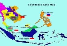 Peta ASEAN (ASEAN MAP). (Foto: Istimewa/Ilustrasi)
