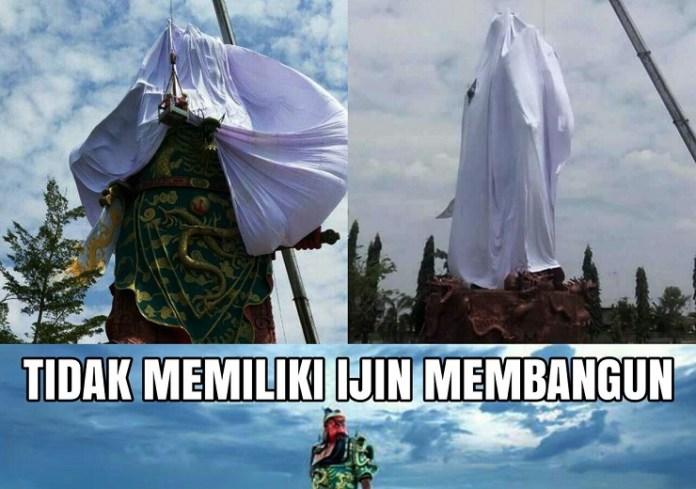 Patung di Tuban/Foto Istimewa/Nusantaranews