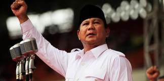Prabowo Subianto/Foto via reuters/Nusantaranews
