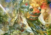 lukisan ekspresiesme (Ilustrasi). Foto: Dok. huseinaremania