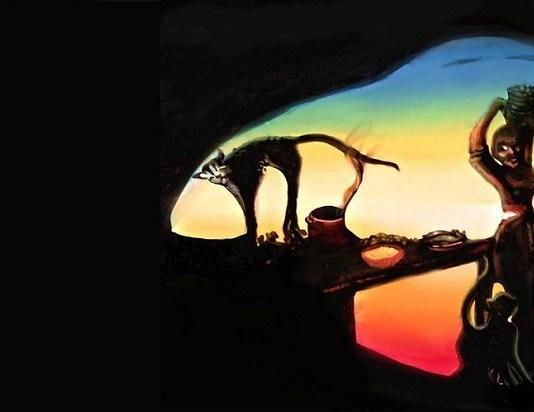 Ilustrasi Lukisan Surealis. Foto: The Sun