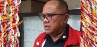 Anggota Pansus Angket, Junimart Girsang. Foto Ucok Al Ayubbi/ NusantaraNews.co