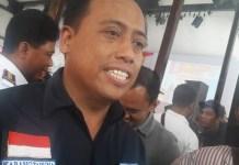 Ketua Karang Taruna Jatim Agus Maimun ditemui disela-sela pelantikan karang taruna Jatim di Surabaya, senin (25/9/2017). (Foto: Tri Wahyudi/NusantaraNews)