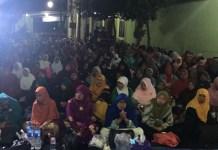 Acara doa bersama peringati Tahun Baru Islam di Pondok Pondok Darul Falah Ponorogo/Foto Tri Wahyudi/Nusantaranews