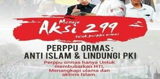 Poster seruan atau ajakan aksi 229. (Foto: Istimewa)