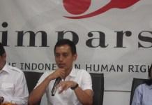 Direktur Imparsial, Al Araf. (Foto Andika/Nusantaranews)