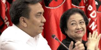 Effendi MS Simbolon bersama Megawati/Foto