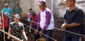 Gotong Royong membangun masjid/Foto Sis/Nusantaranews