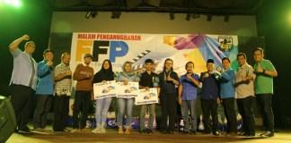 alam Penganugerahan (Awarding Night) Festival Film Pendek (FFP), DPP KNPI DIY. Foto NusantaraNews.co