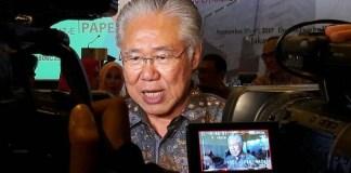 Menteri Perdagangan Enggartiasto Lukita di Double Tree Hilton Cikini, Jakarta, Selasa (5/9/2017). Foto Richard Andika/ NusantaraNews.co