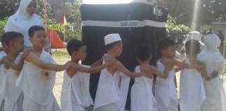 Kegiatan manasik haji/Foto Dok. Pribadi/Nusantaranews