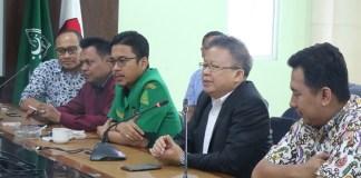 Ketua Bidang Ekonomi Pimpinan Pusat GP Ansor, Sumantri Suwarno (jas hitam)/Foto Dok. Pribadi/Nusantaranews
