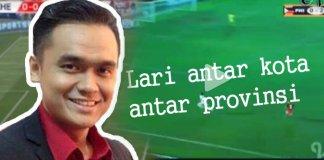 Komentator Bola Radot Valen atau Bung Jebret/Foto via tribun/Nusantaranews